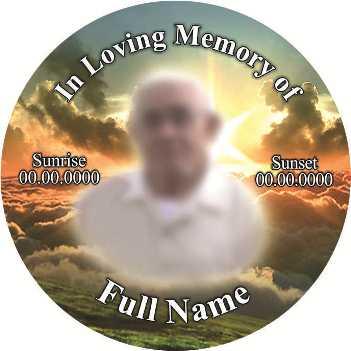 Funeral Badge